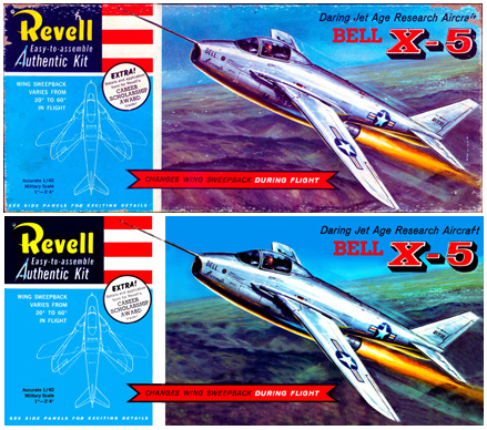 Revell X-5 Before & After